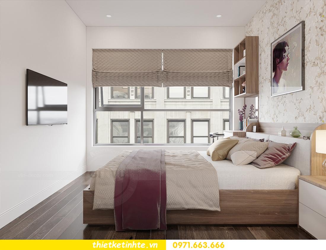 công ty gia vũ chuyên thiết kế thi công căn hộ vinhomes 11