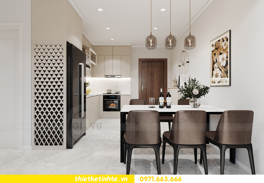 mẫu thiết kế nhà bếp chung cư đẹp, sang trọng, tiện nghi 06