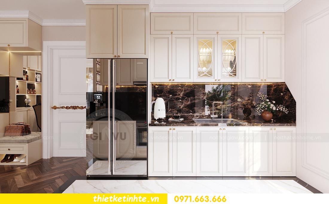 mẫu thiết kế nhà bếp chung cư đẹp, sang trọng, tiện nghi 08