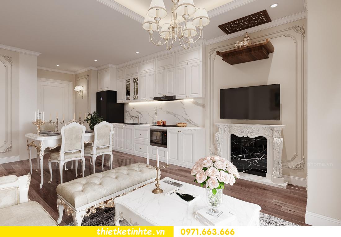 mẫu thiết kế nhà bếp chung cư đẹp, sang trọng, tiện nghi 09