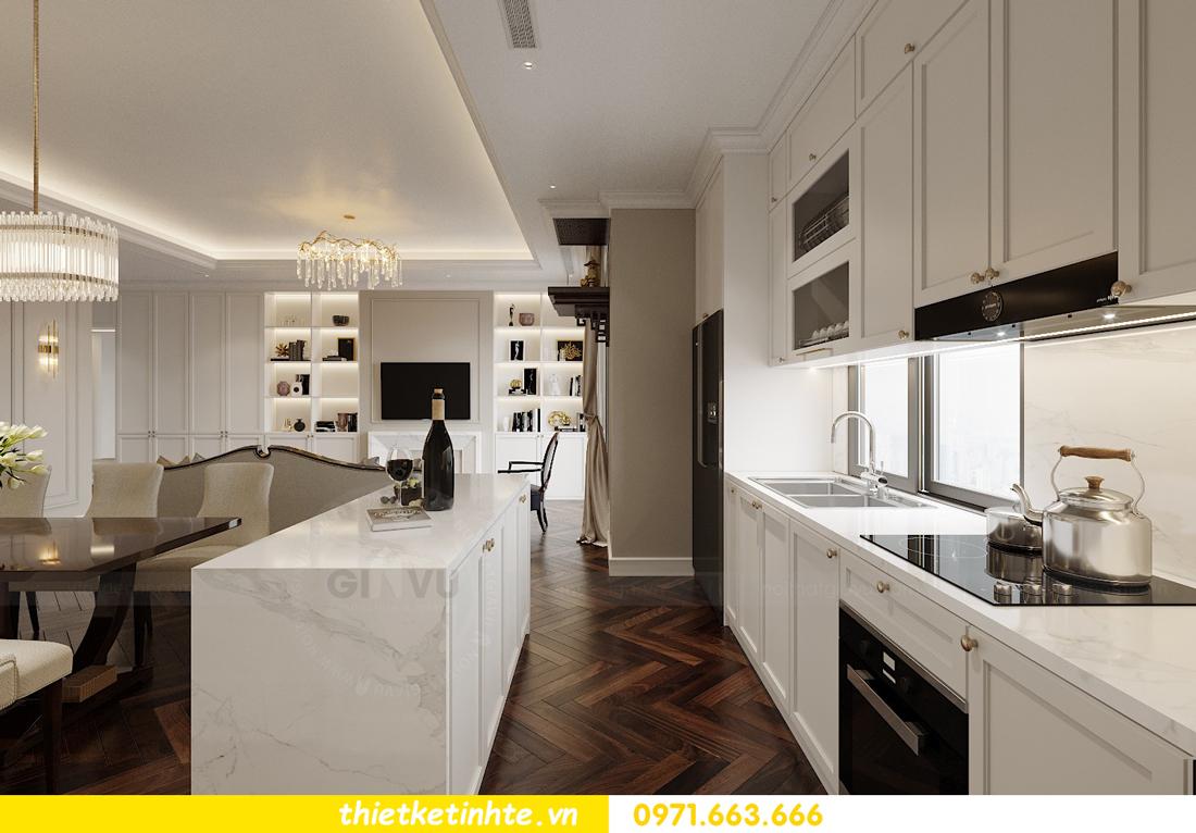 mẫu thiết kế nhà bếp chung cư đẹp, sang trọng, tiện nghi 1