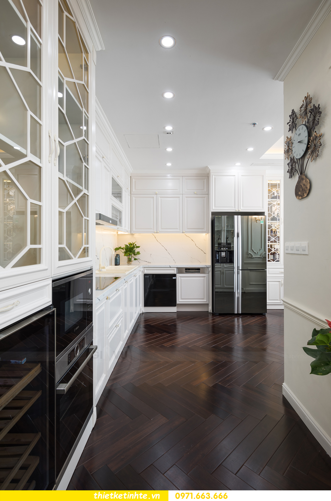 mẫu thiết kế nhà bếp chung cư đẹp, sang trọng, tiện nghi 10