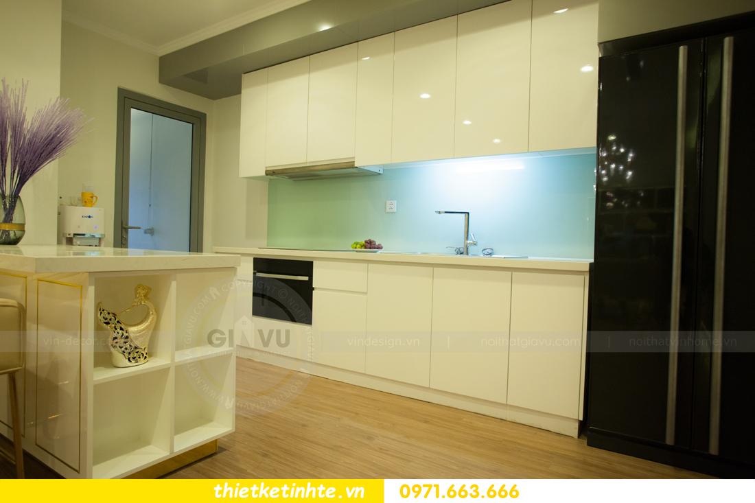 mẫu thiết kế nhà bếp chung cư đẹp, sang trọng, tiện nghi 12