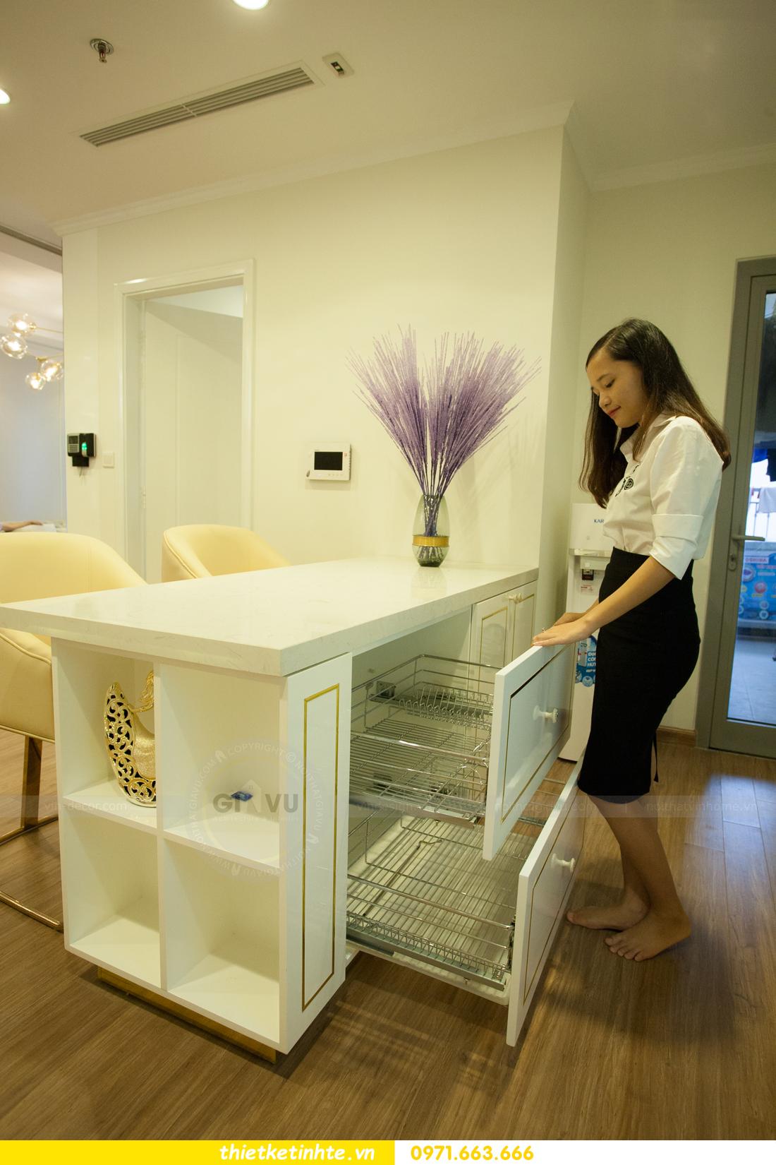 mẫu thiết kế nhà bếp chung cư đẹp, sang trọng, tiện nghi 13