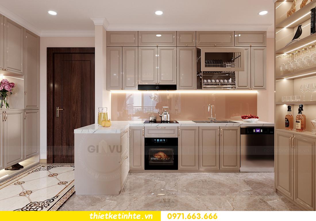 mẫu thiết kế nhà bếp chung cư đẹp, sang trọng, tiện nghi 2