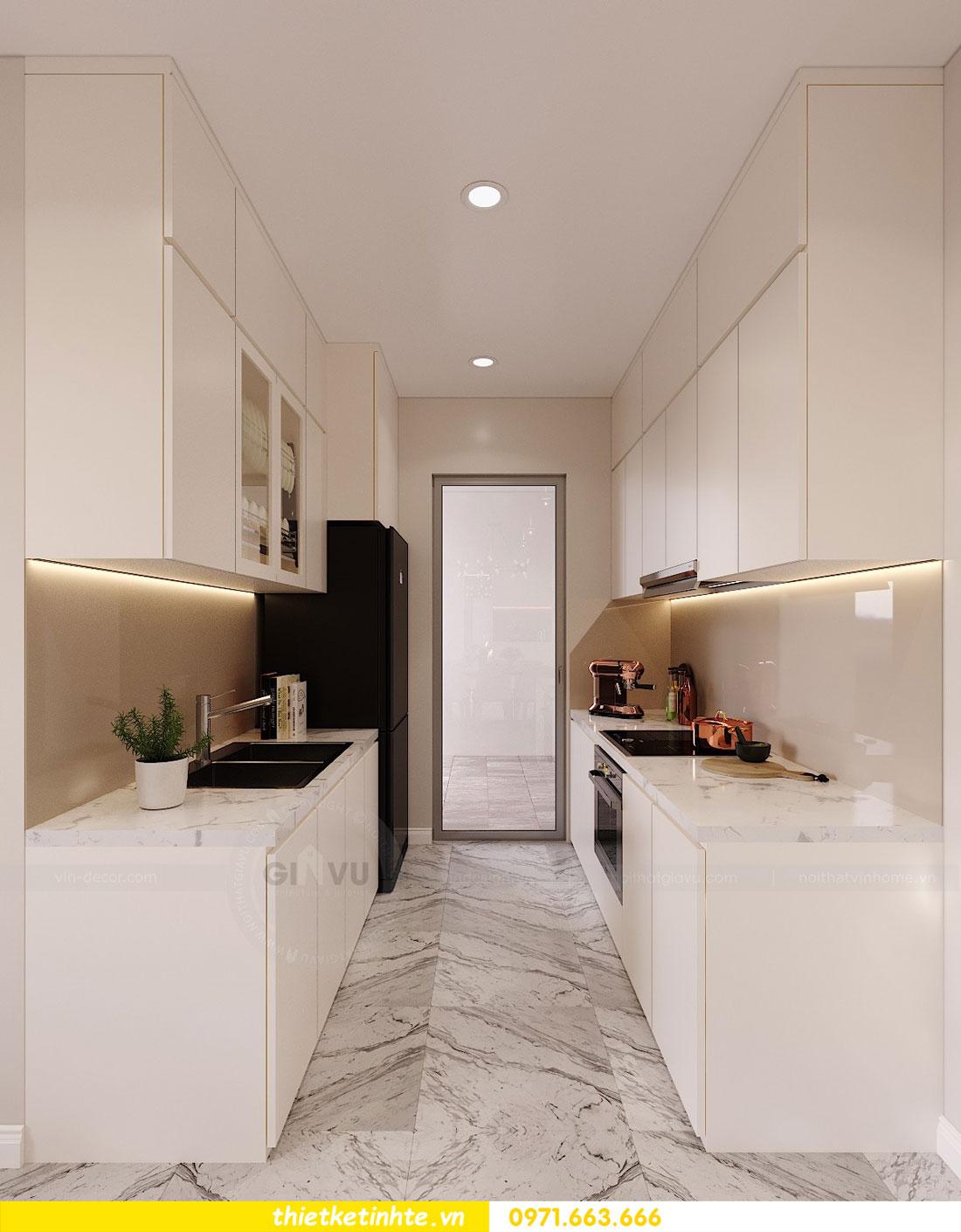 mẫu thiết kế nhà bếp chung cư đẹp, sang trọng, tiện nghi 20