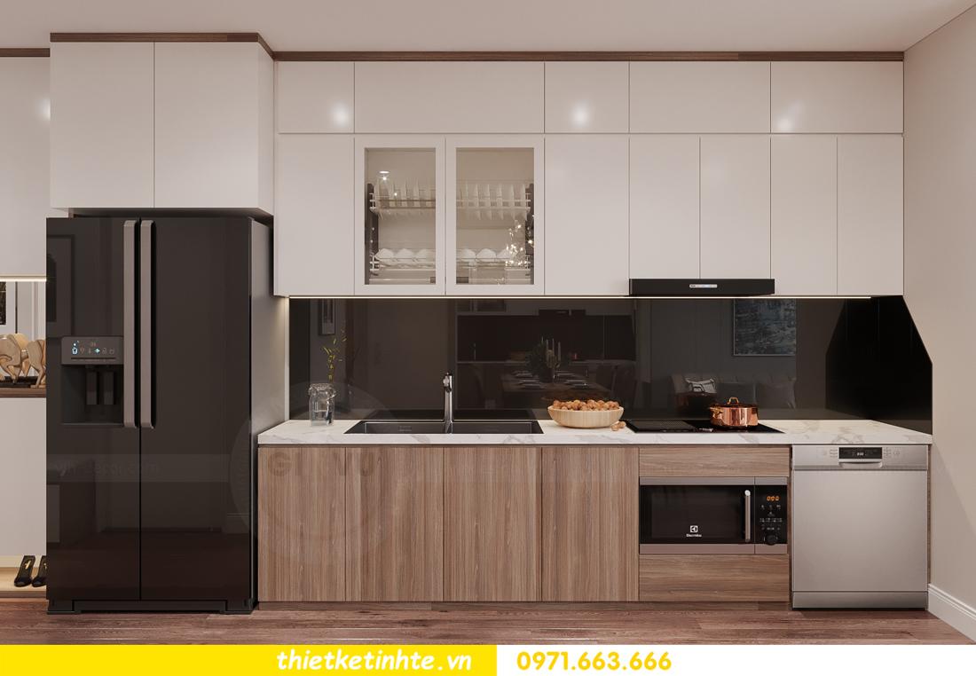mẫu thiết kế nhà bếp chung cư đẹp, sang trọng, tiện nghi 4
