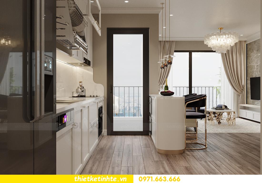 mẫu thiết kế nhà bếp chung cư đẹp, sang trọng, tiện nghi 6