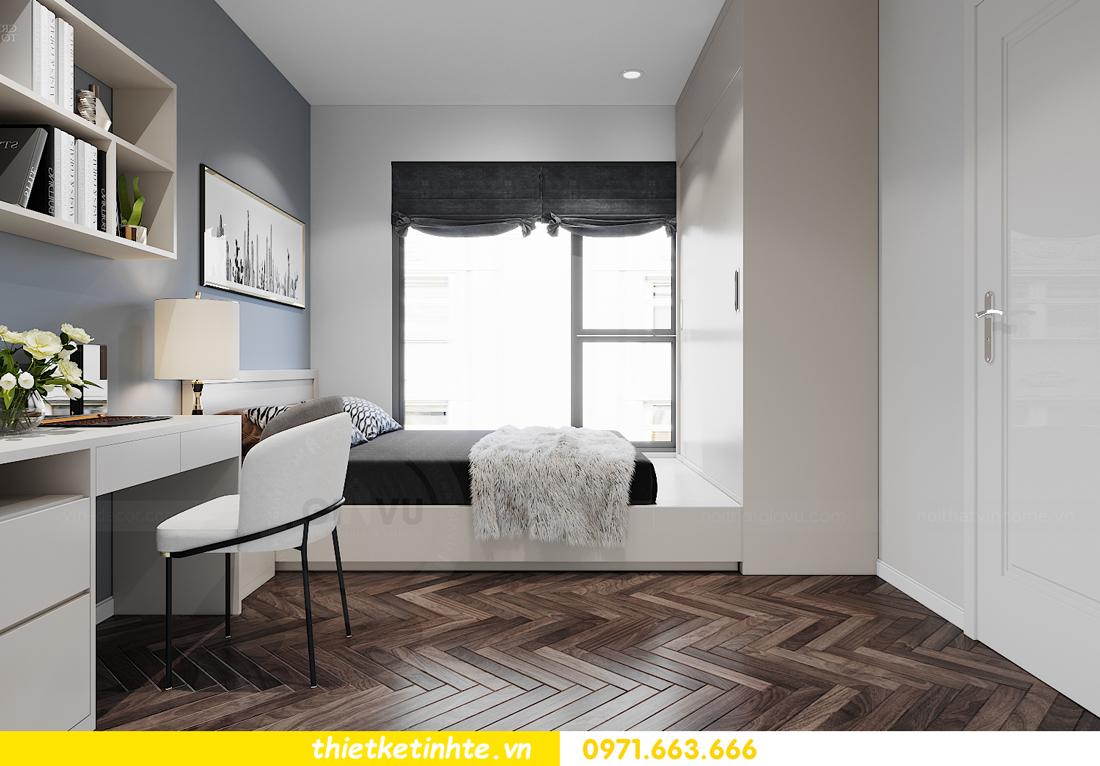 thiết kế nội thất căn hộ Smart City tòa S1.01 căn 06 10