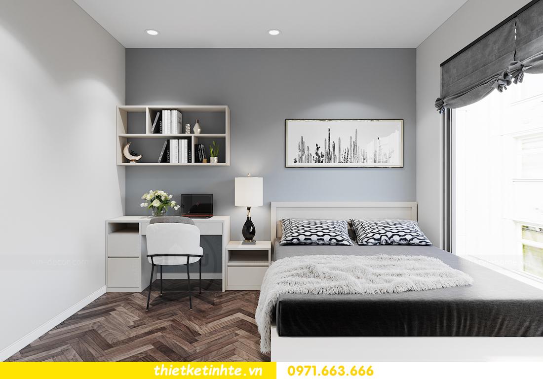 thiết kế nội thất căn hộ Smart City tòa S1.01 căn 06 11