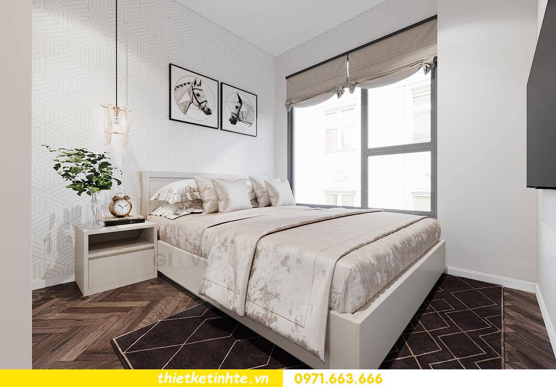 thiết kế nội thất căn hộ Smart City tòa S1.01 căn 06 12