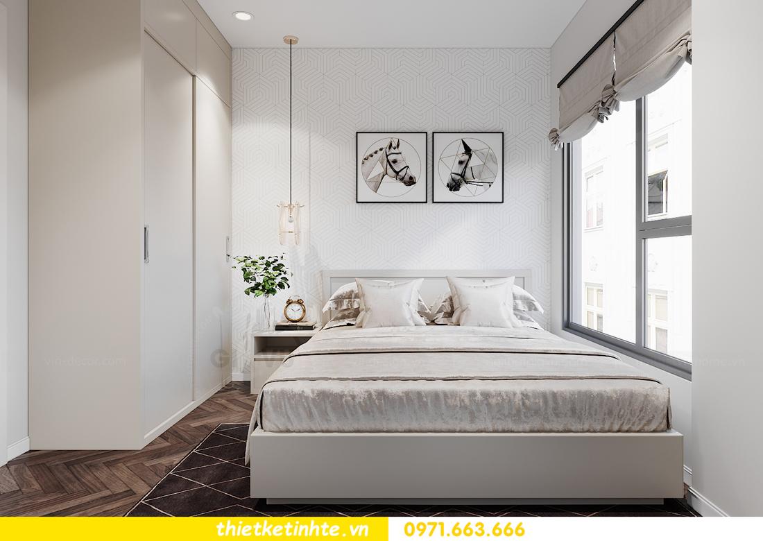 thiết kế nội thất căn hộ Smart City tòa S1.01 căn 06 13