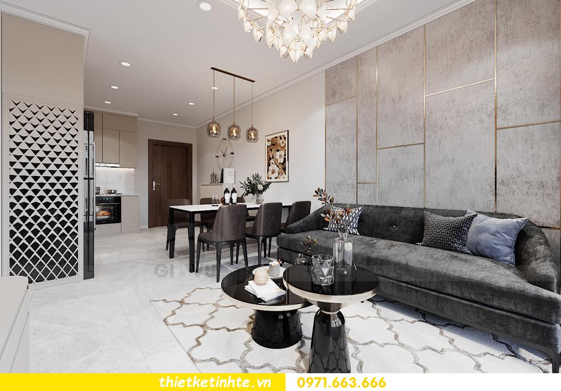 thiết kế nội thất căn hộ Smart City tòa S1.01 căn 06 5