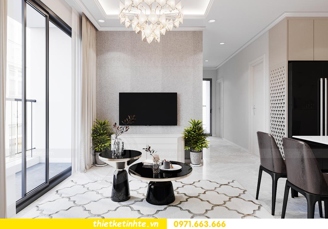 thiết kế nội thất căn hộ Smart City tòa S1.01 căn 06 6