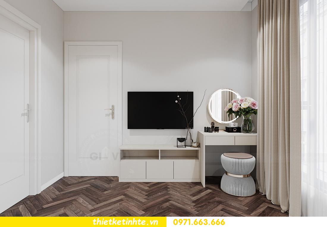 thiết kế nội thất căn hộ Smart City tòa S1.01 căn 06 9