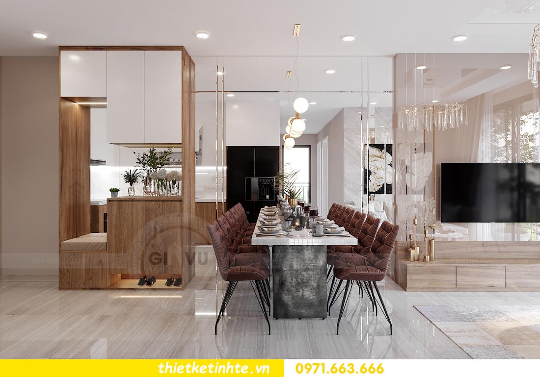Thiết kế nội thất Vinhomes Smart City tòa S202 căn hộ 01 1
