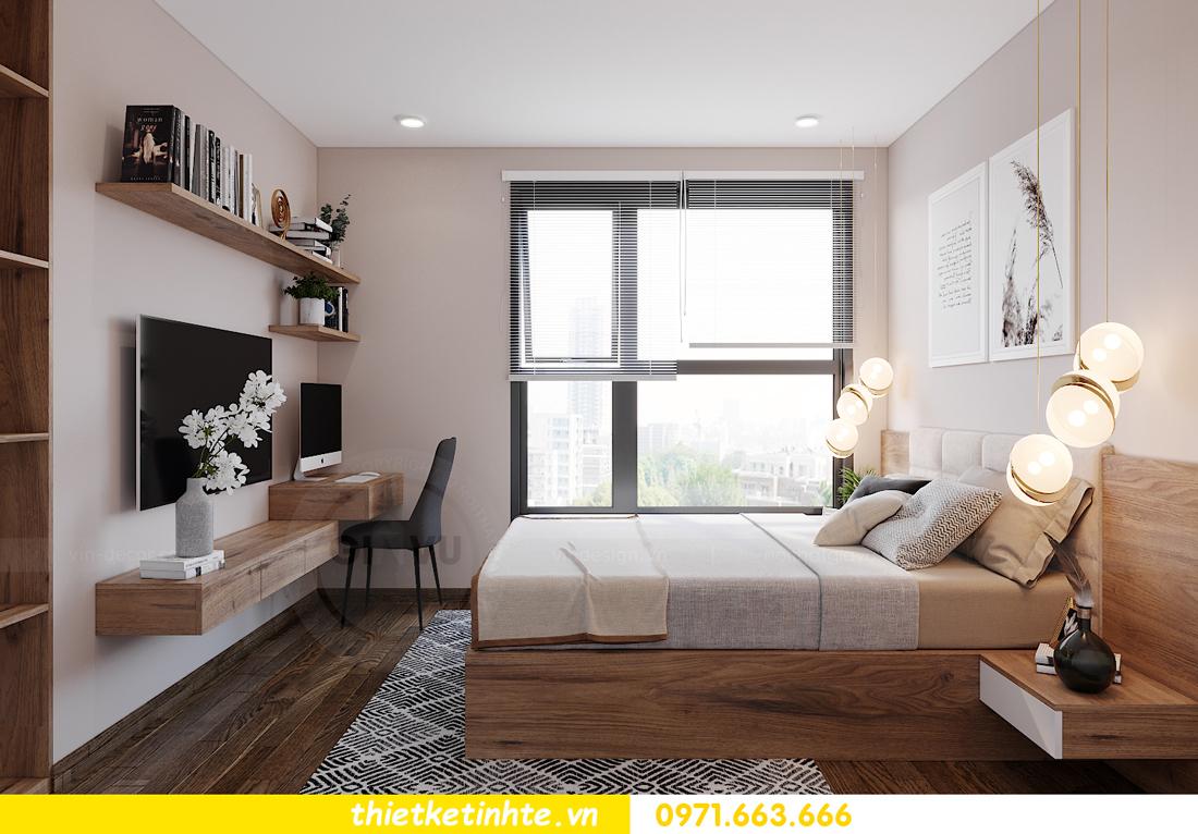 Thiết kế nội thất Vinhomes Smart City tòa S202 căn hộ 01 10