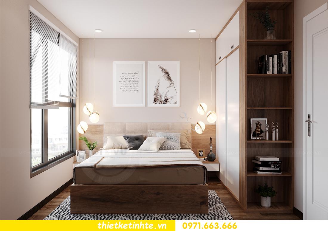 Thiết kế nội thất Vinhomes Smart City tòa S202 căn hộ 01 11