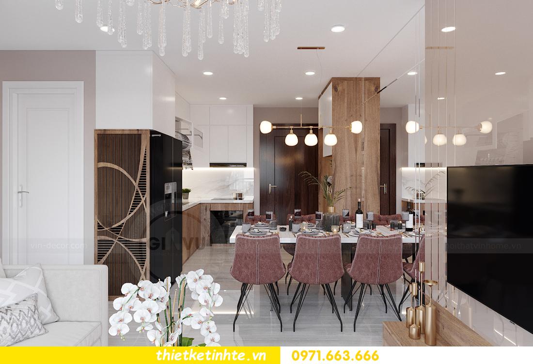 Thiết kế nội thất Vinhomes Smart City tòa S202 căn hộ 01 2