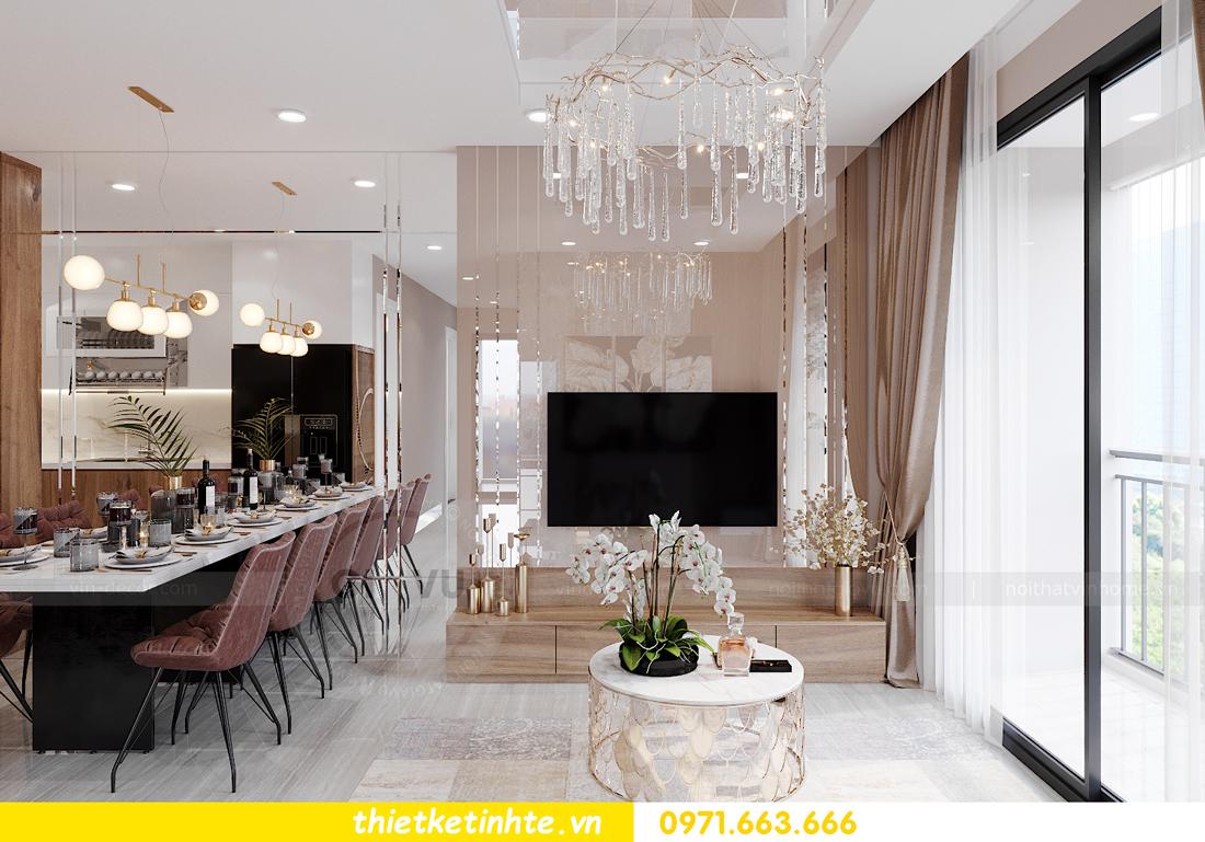 Thiết kế nội thất Vinhomes Smart City tòa S202 căn hộ 01 3