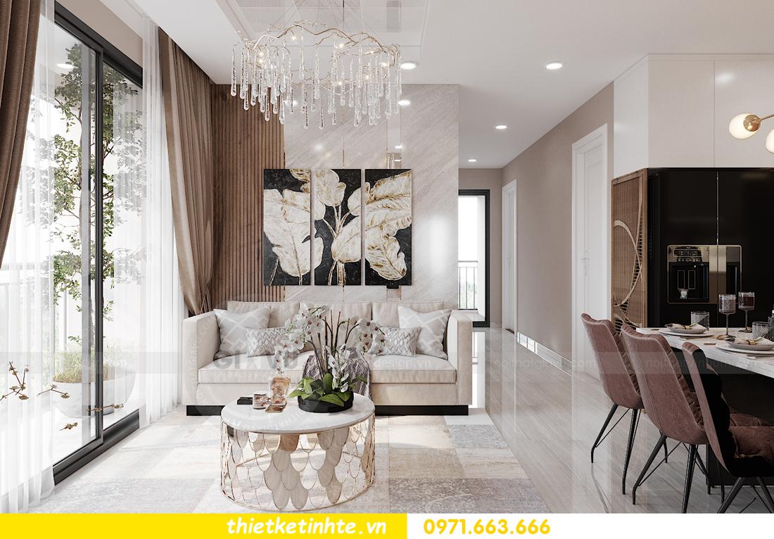 Thiết kế nội thất Vinhomes Smart City tòa S202 căn hộ 01 4