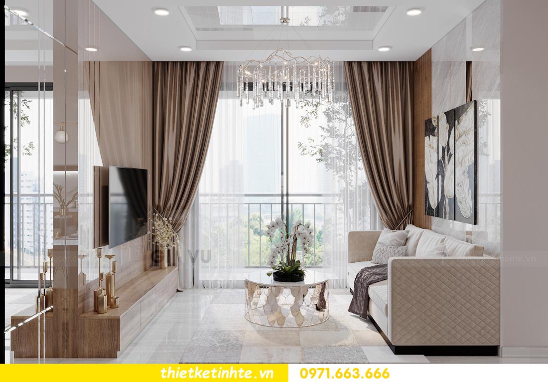 Thiết kế nội thất Vinhomes Smart City tòa S202 căn hộ 01 5