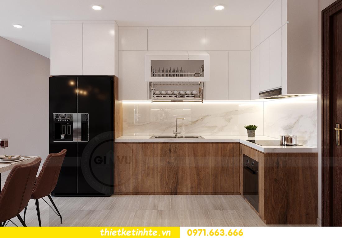 Thiết kế nội thất Vinhomes Smart City tòa S202 căn hộ 01 6