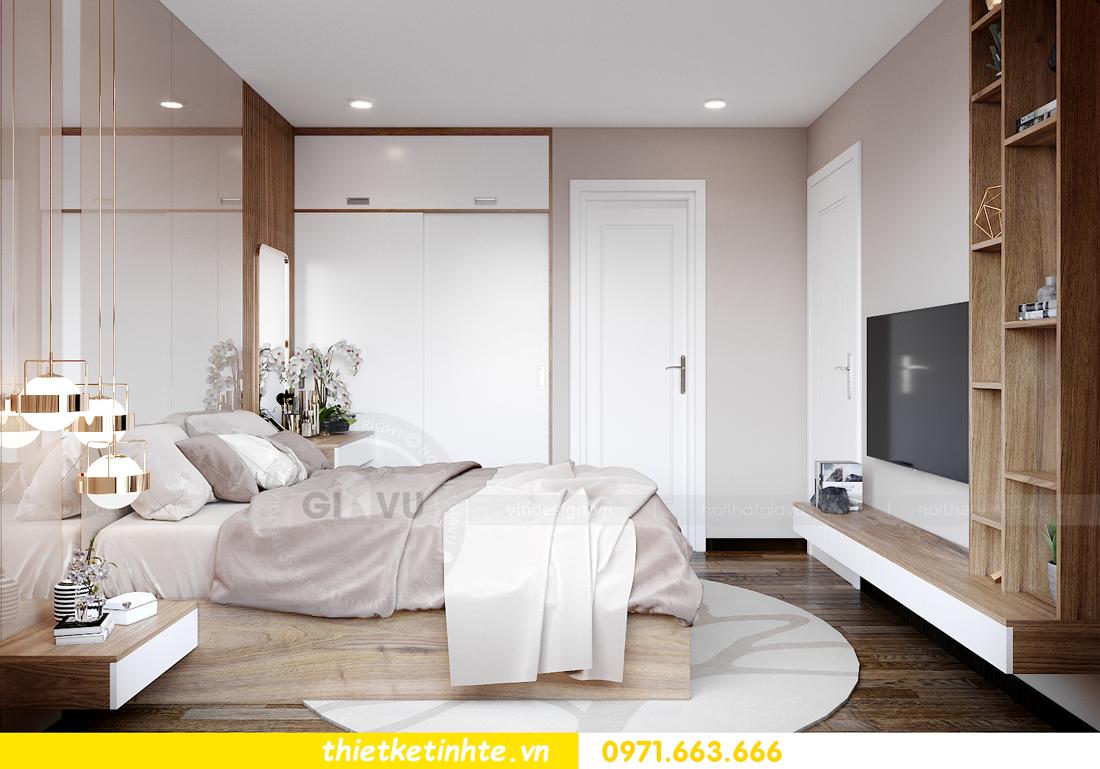 Thiết kế nội thất Vinhomes Smart City tòa S202 căn hộ 01 7