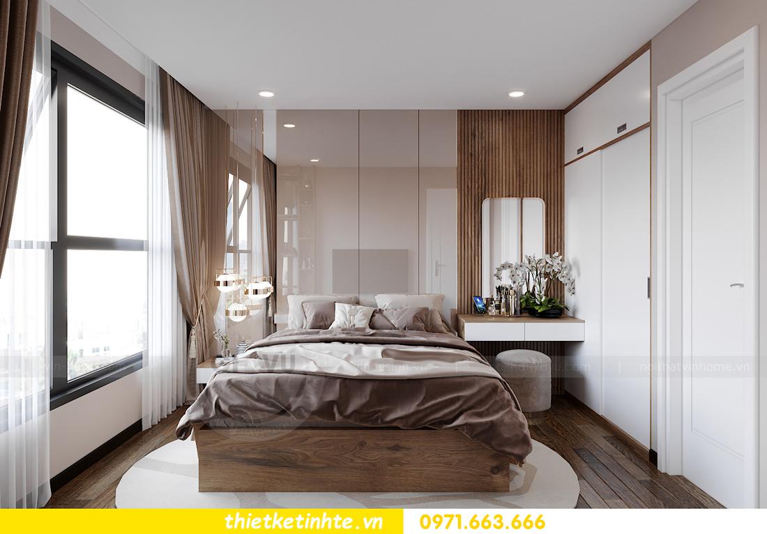 Thiết kế nội thất Vinhomes Smart City tòa S202 căn hộ 01 8