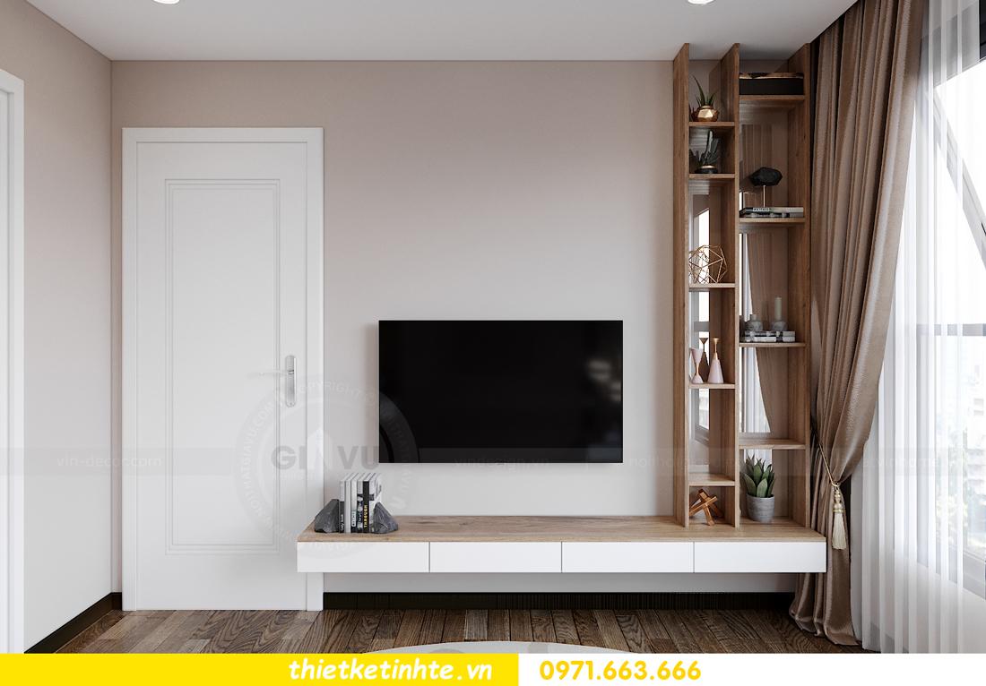 Thiết kế nội thất Vinhomes Smart City tòa S202 căn hộ 01 9
