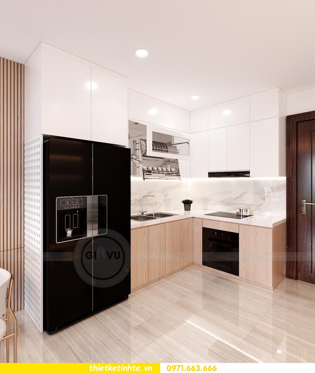 mẫu nội thất căn hộ Smart City tòa S202 căn 10A 2