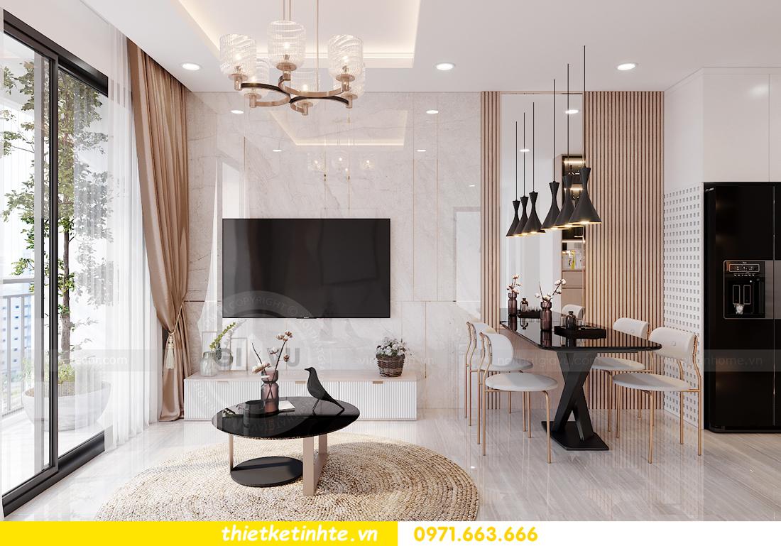 mẫu nội thất căn hộ Smart City tòa S202 căn 10A 3
