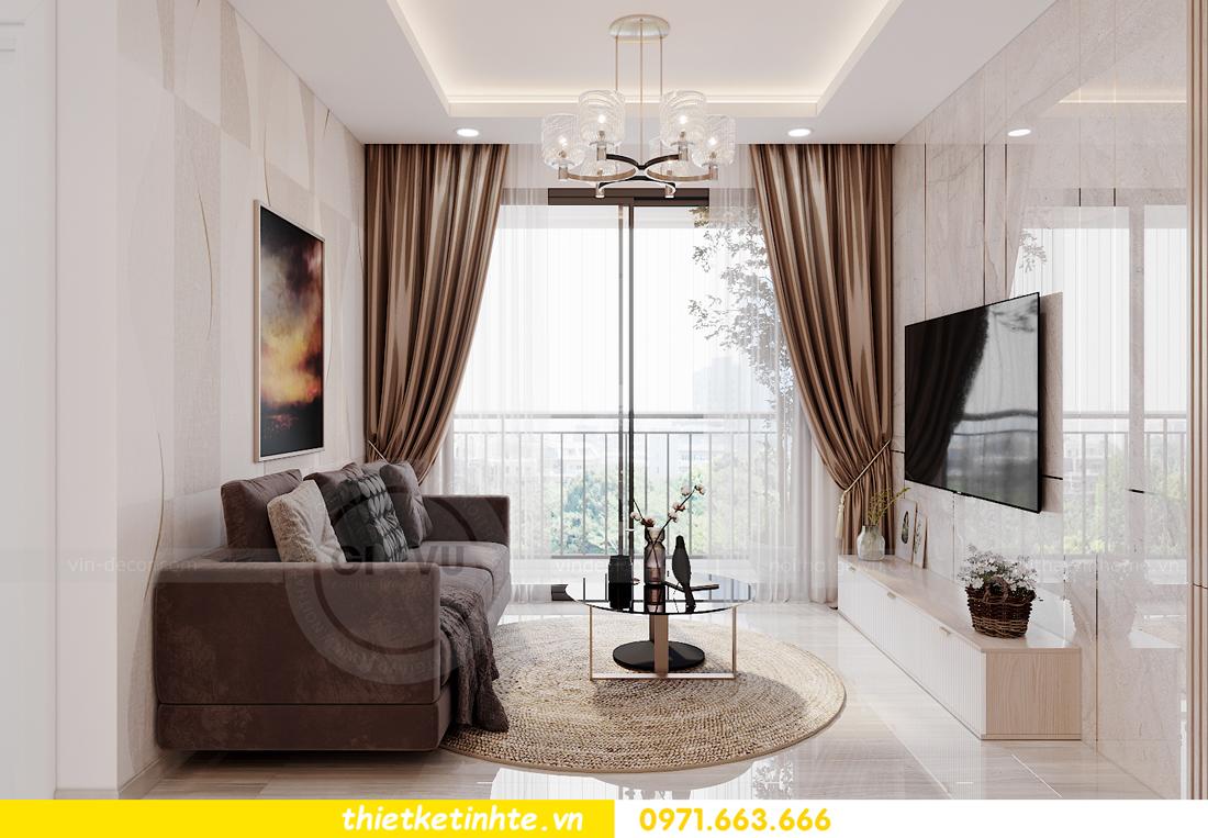 mẫu nội thất căn hộ Smart City tòa S202 căn 10A 4
