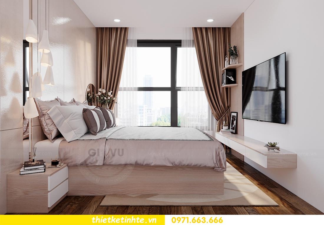 mẫu nội thất căn hộ Smart City tòa S202 căn 10A 5