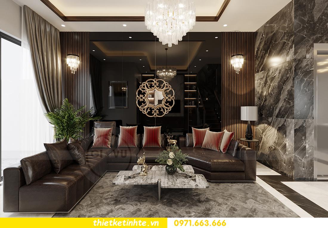 thiết kế nội thất biệt thự OCean Park khu Ngọc Trai nhà anh Tú 1