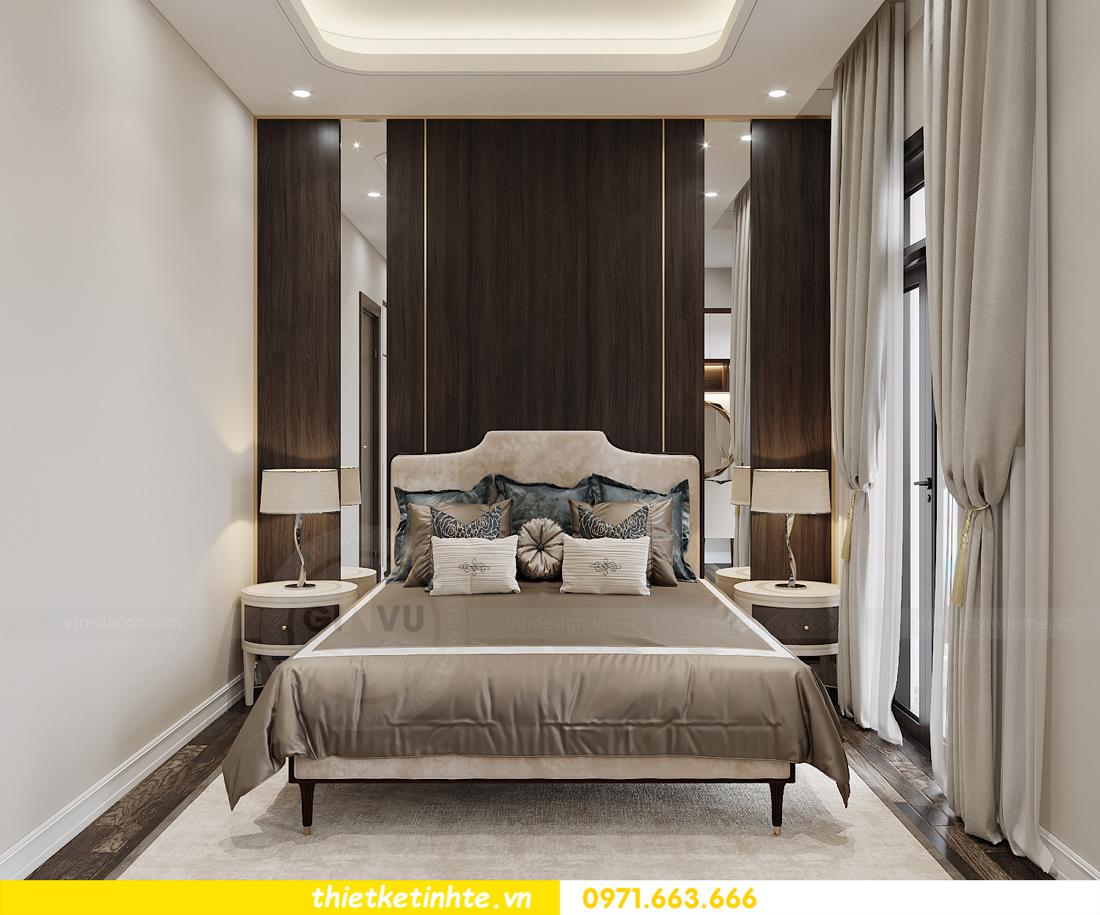 thiết kế nội thất biệt thự OCean Park khu Ngọc Trai nhà anh Tú 10