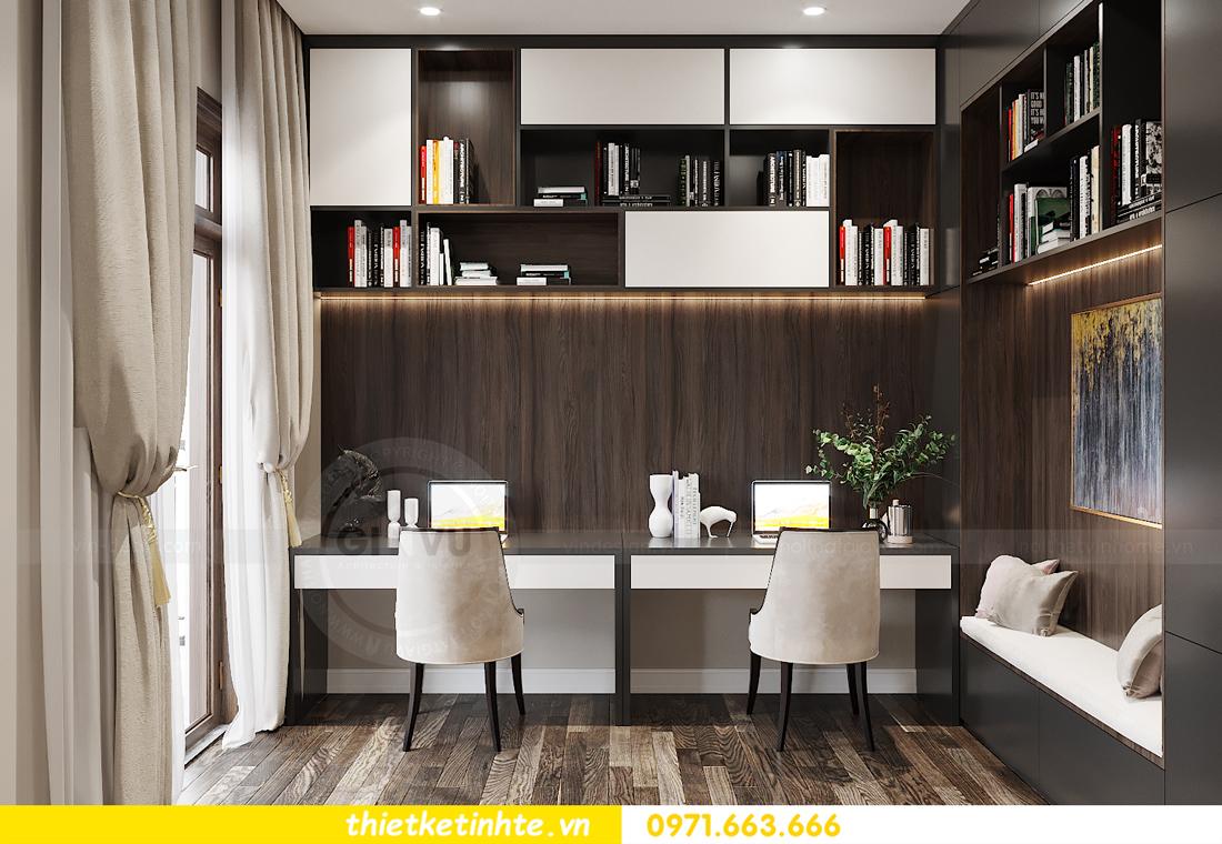 thiết kế nội thất biệt thự OCean Park khu Ngọc Trai nhà anh Tú 13
