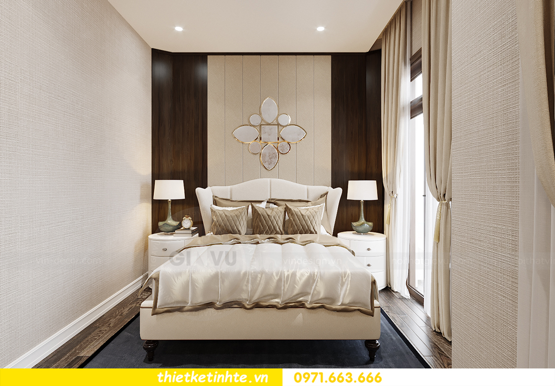 thiết kế nội thất biệt thự OCean Park khu Ngọc Trai nhà anh Tú 17