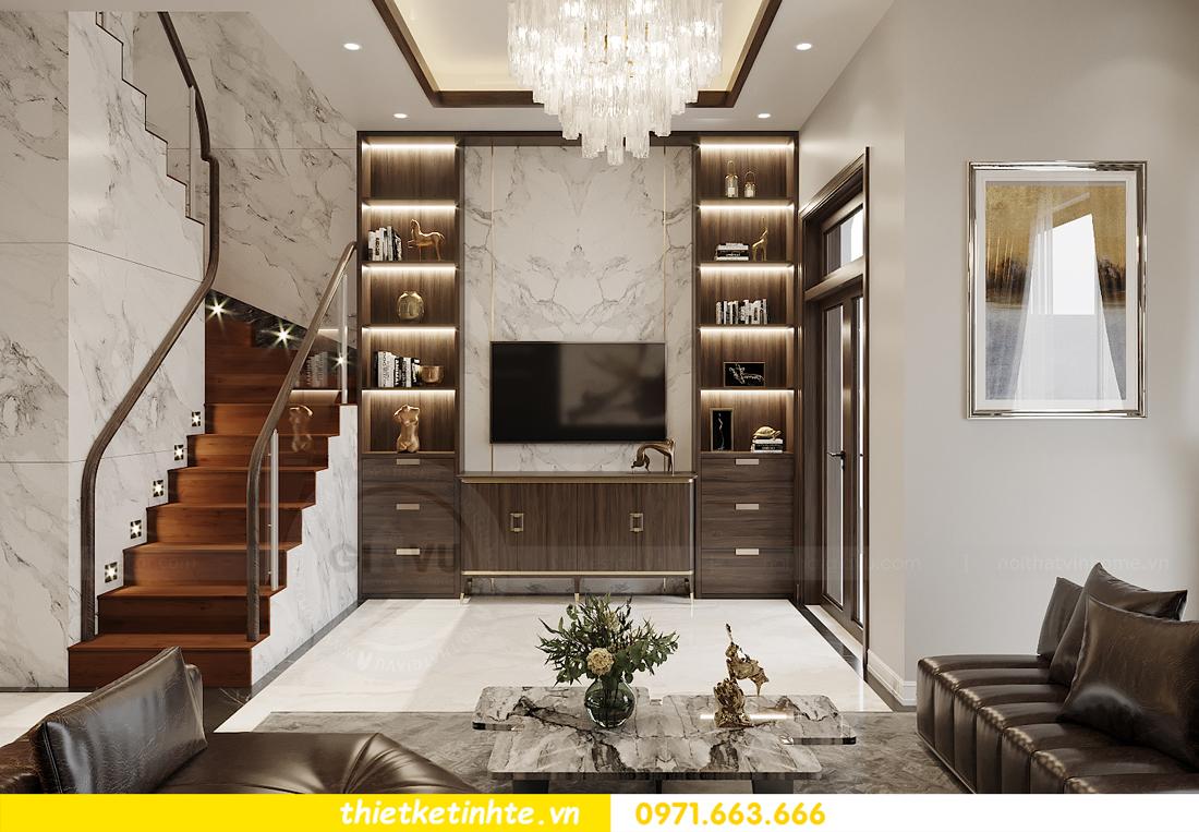 thiết kế nội thất biệt thự OCean Park khu Ngọc Trai nhà anh Tú 2