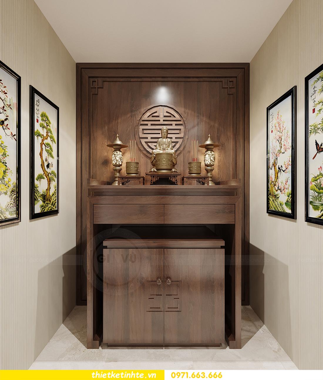 thiết kế nội thất biệt thự OCean Park khu Ngọc Trai nhà anh Tú 22