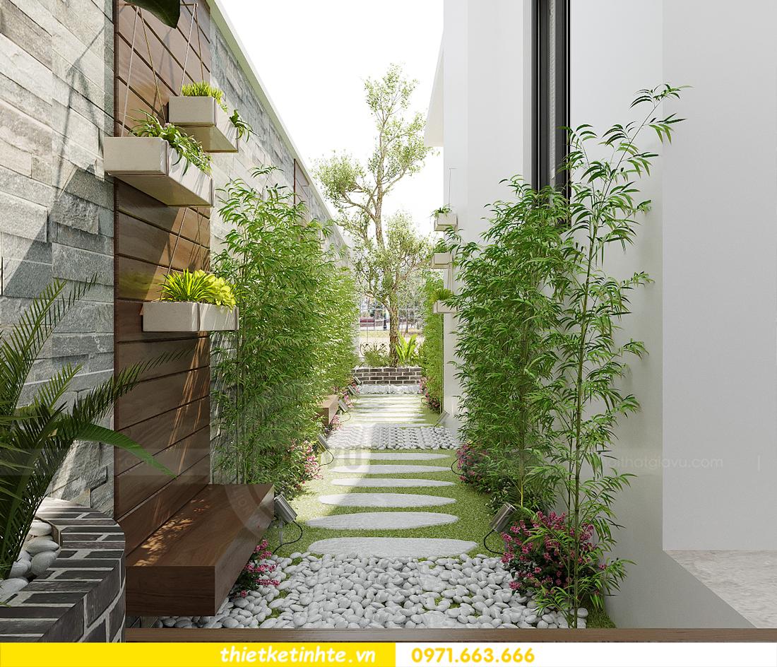 thiết kế nội thất biệt thự OCean Park khu Ngọc Trai nhà anh Tú 26