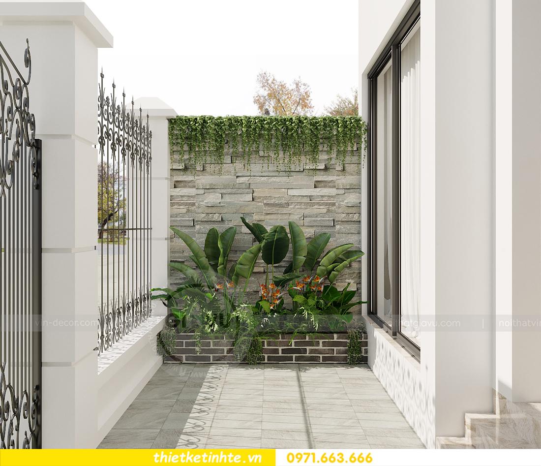 thiết kế nội thất biệt thự OCean Park khu Ngọc Trai nhà anh Tú 29