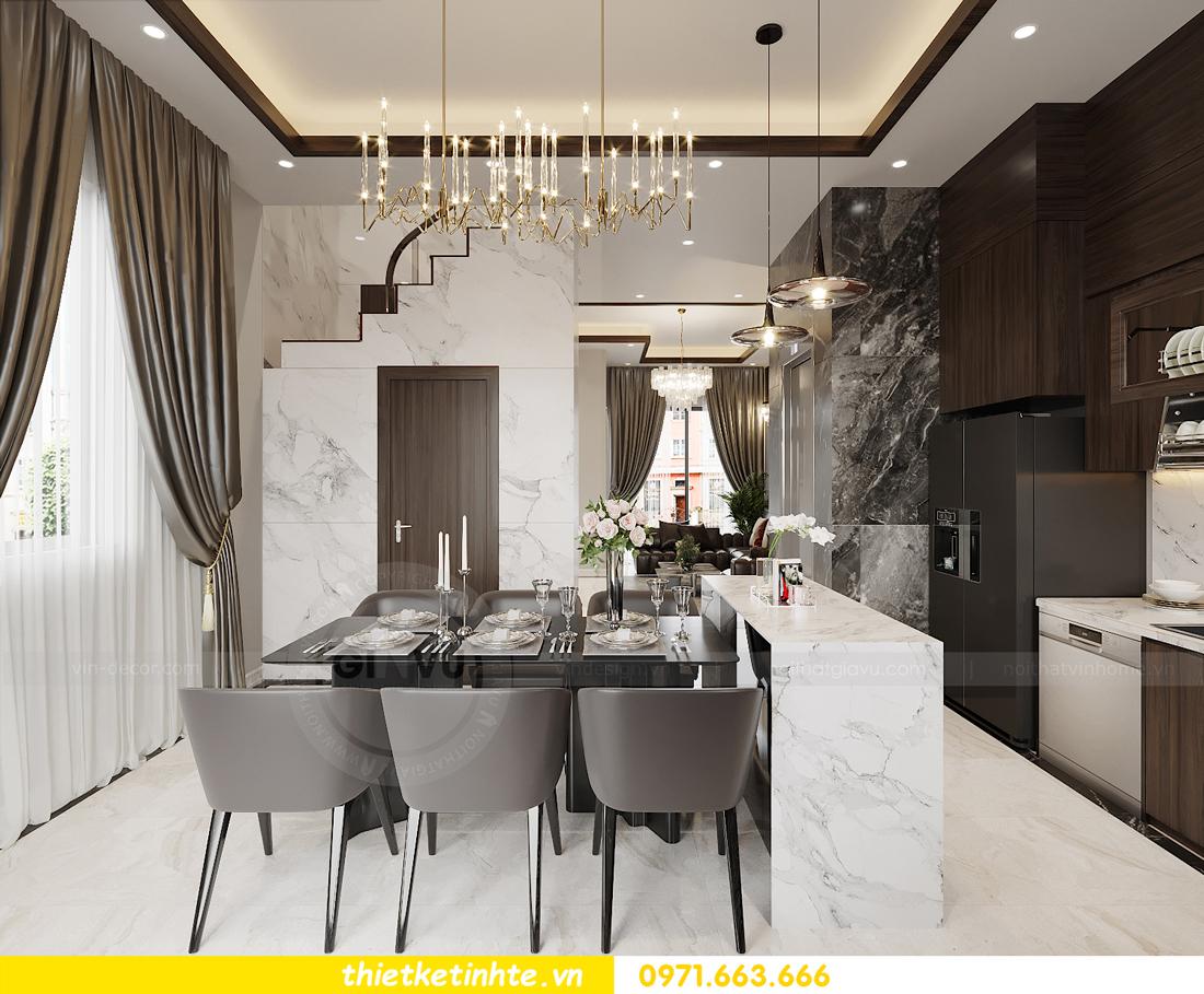 thiết kế nội thất biệt thự OCean Park khu Ngọc Trai nhà anh Tú 4