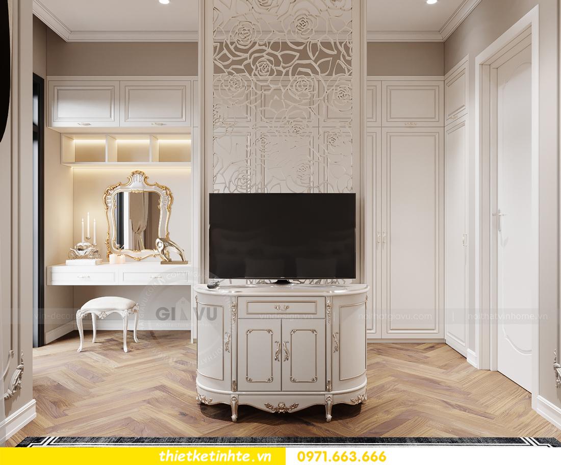 thiết kế nội thất biệt thự tân cổ điển tại Vinhomes Ocean Park 10