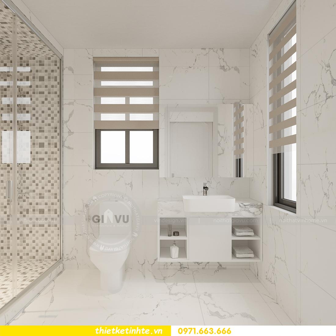 Thiết kế nội thất nhà phố hiện đại nhà anh Sơn Hải Phòng 12