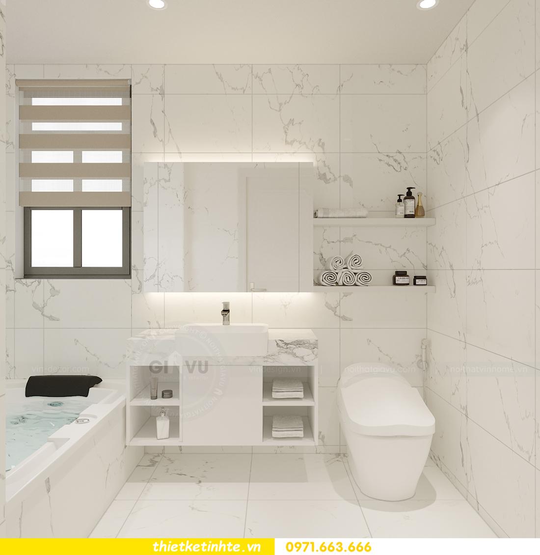 Thiết kế nội thất nhà phố hiện đại nhà anh Sơn Hải Phòng 16