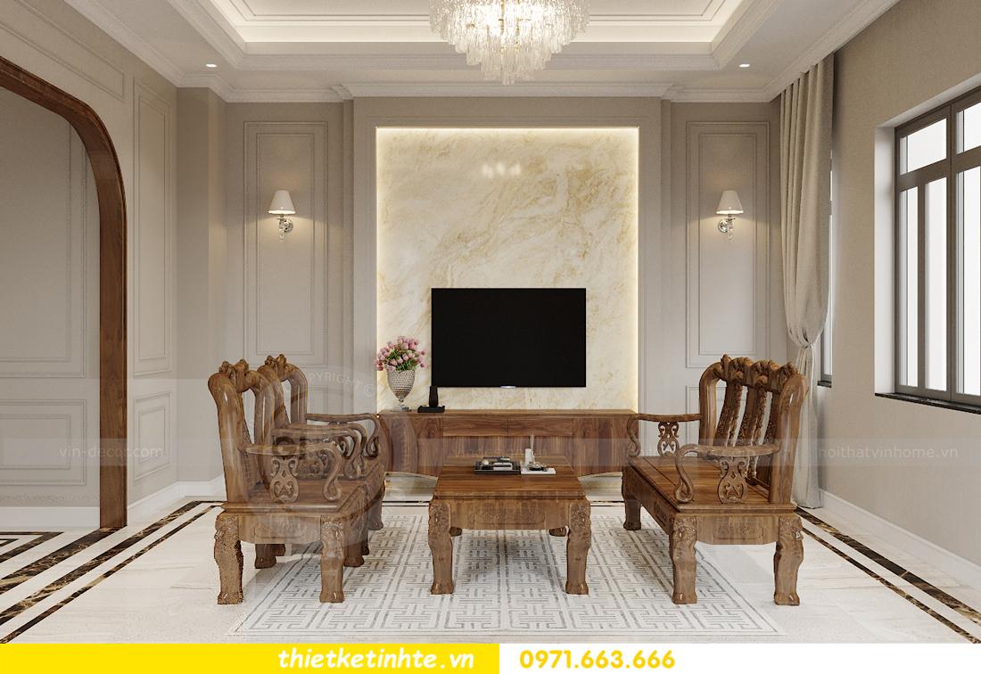 Thiết kế nội thất nhà phố hiện đại nhà anh Sơn Hải Phòng 2