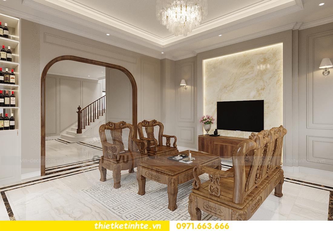 Thiết kế nội thất nhà phố hiện đại nhà anh Sơn Hải Phòng 3
