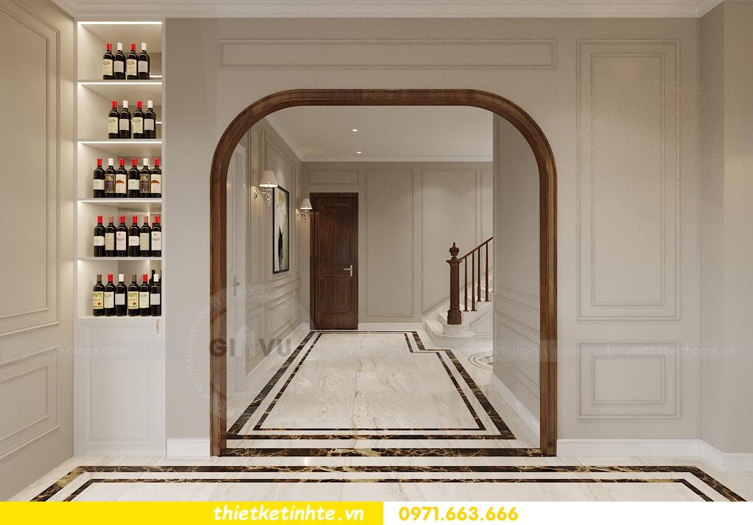 Thiết kế nội thất nhà phố hiện đại nhà anh Sơn Hải Phòng 6