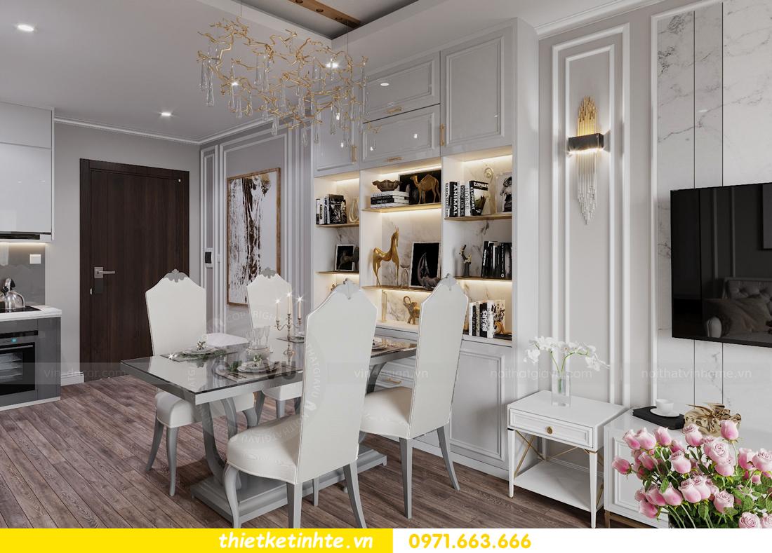 thiết kế nội thất Smart City tòa S2.02 căn hộ 5B nhà chị Hà 1